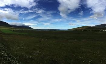 PANORAMICA DEL FIORD OLAFSFJÖRDUR  – NORD D'ISLANDIA