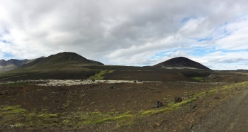 PANORAMICA DES DE  LA CARRETERA F570  –  PENÍNSULA DE SNAEFELLSNES  - OEST D'ISLANDIA