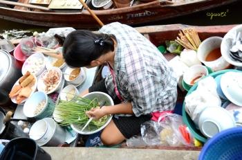mercat flotant de Bangkok