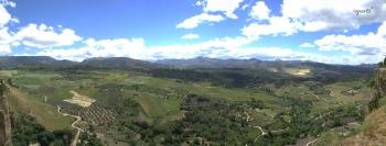 """""""Parque natural de las Nives"""" vist des de RONDA"""