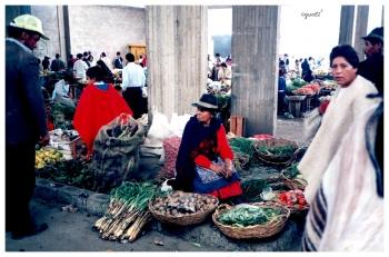 Mercat a ZIPAQUIRA  - COLOMBIA