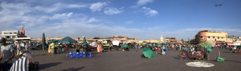 Plaza de Yamaa el Fna - MARRAKECH - MARROC