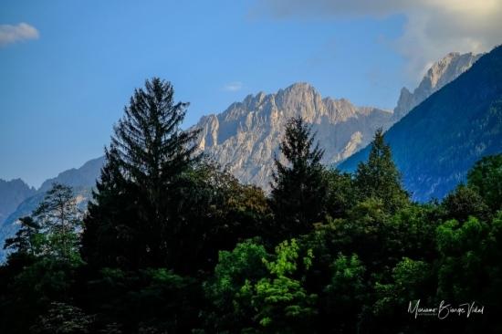 Los Dolomitas desde Lilenz