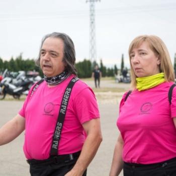 Moteros Zaragoza con Aspanoa