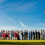Novios e invitados. © Booda Fotografía