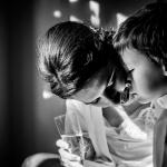 El confidente de la novia. © Booda Fotografía