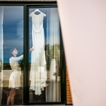 La novia y su vestido. © Booda Fotografía