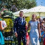 La felicidad de la novia. © Booda Fotografía