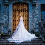 El precioso vestido de la novia. © Booda Fotografía