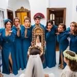 La novia y sus damas de honor. © Booda Fotografía