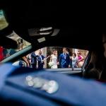El coche de los novios. © Booda Fotografía