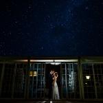 Novios bajo las estrellas. © Booda Fotografía