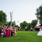 ¡El ramo de la novia! © Booda Fotografía