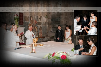 Página del álbum - Monasterio de Santa María, San Martín de Castañeda, Zamora