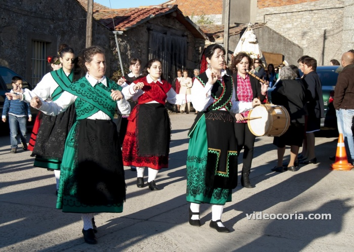 Torregamones baila el ramo. Sayago, Zamora, Spain