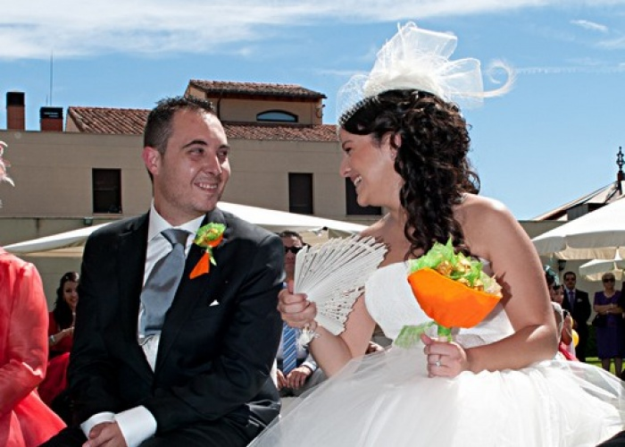 Abel y Esther, boda civil en Benavente, Zamora