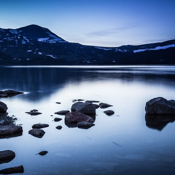Bouilloses lake