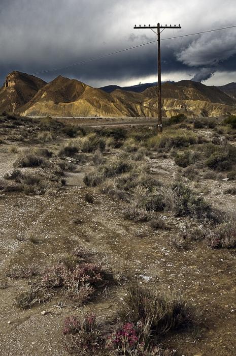luz en el desierto