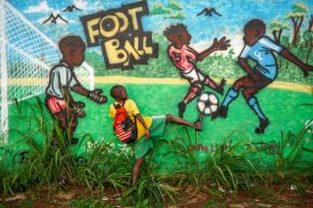 Football. Uganda 2011.