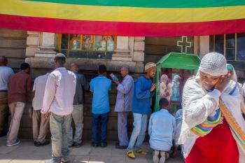 Religión. Etiopía 2014.