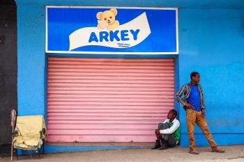 ARKEY lemon fresh detergent. Etiopía 2014.