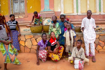 Fotografía en color. Benín 2010.