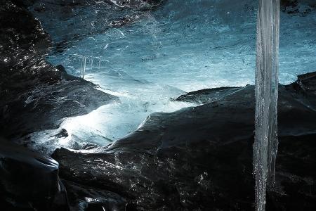 Islandia, Cueva Glaciar Öraefajökul