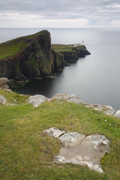 Neist Point Lighthouse, Skye Isle Scothland