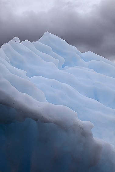 Columbia Glacier, Prince William Sound, Alaska, June 2010.