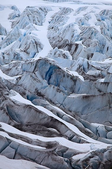 Exit Glacier, Kenai Peninsula Borough, Alaska, June 2010.