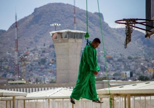 Viacrucis en cárceles de la Ciudad de México