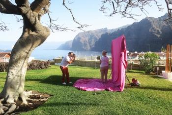 Susan Smith. Los Gigantes. Tenerife. Autorretrato