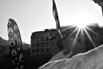 Josh Kerr. La Zurriola. País Vasco