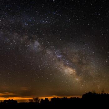 Vía Láctea en Monegros