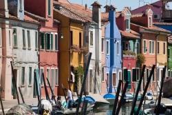 """reportaje Burano (Italia) - título: """"sinfonía de color"""""""