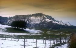 report: Orduña (Bizkaia) - Title: Winter Mountain Saved (Sierra Salvada)