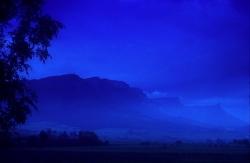 report: Orduña (Bizkaia) - Title: Blue