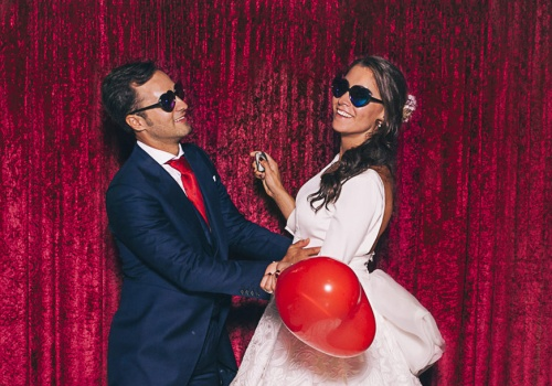 Saray y Antonio - photocall