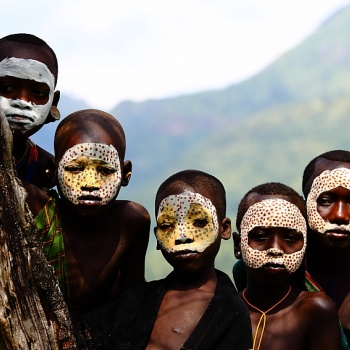 Surma country and omo valley