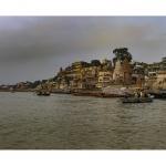 El Ganges en Benarés