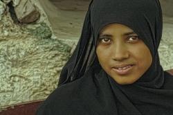 Rima, mi amiga en Jibla.