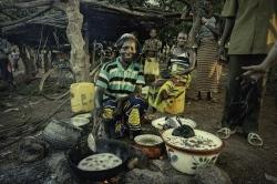 Pequeño mercado de Bantogdo, Burkina Faso.