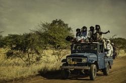 Hacia el mercado, Niger.
