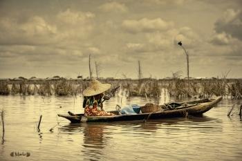 Lago Nukue, Benin