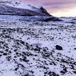 Dusk in Svínafellsjökull