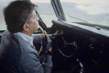 Capitan Walter Ballivian con toma de oxigeno