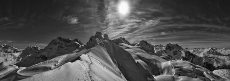 Panorámica desde la punta de La Zapatilla