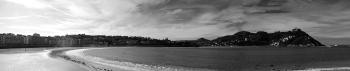 Panoramic | 2012 | La Concha beach -  San Sebastián, Spain
