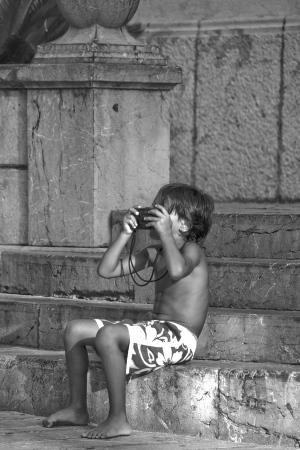 His first photo? | 2009 | Mallorca, Spain