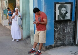 photo tour to cuba taken pictures of the new times in wifi areas